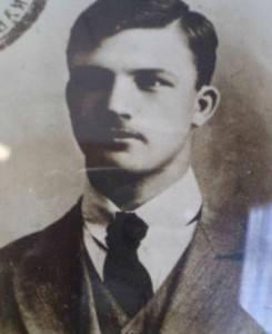 Александр Леонидович Мясников. Фото из студенческого билета